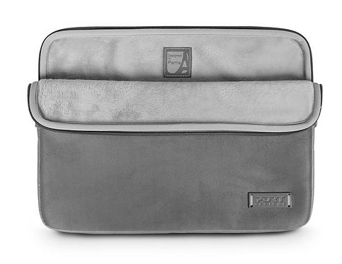 "PORT Designs 13-14"" Milano Universal Ultra-soft Notebook Sleeve Grey"