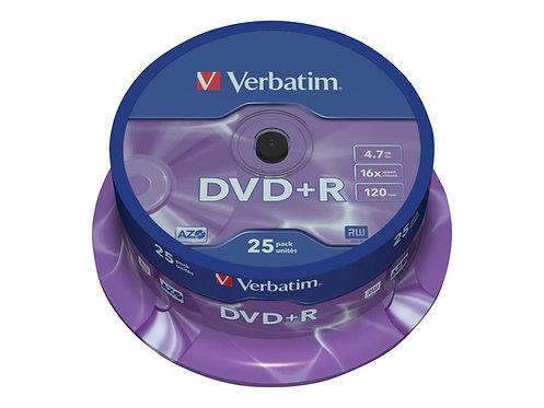 Verbatim DataLifePlus - 25 x DVD+R - 4.7 GB 16x - spindel