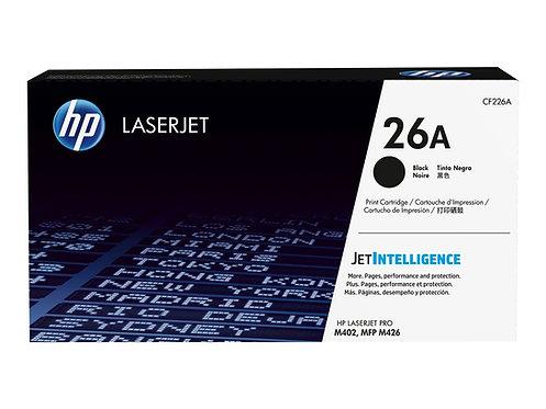HP 26A - Svart - original - LaserJet - tonerkassett (CF226A) - för LaserJet Pro