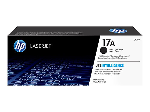 HP 17A - Svart - original - LaserJet - tonerkassett (CF217A) - för LaserJet Pro