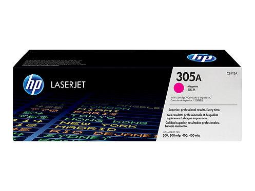 HP 305A - Magenta - original - LaserJet - tonerkassett (CE413A) - för LaserJet P