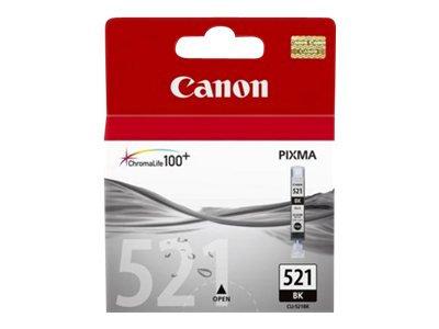 Canon CLI-521BK - 9 ml - foto-svart - original - bläcktank - för PIXMA iP3600, i