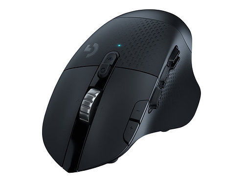 Logitech Gaming Mouse G604 - Mus - optisk - 15 knappar - trådlös - Bluetooth, LI