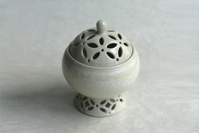 結晶釉香炉