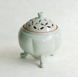 雄勝青瓷香炉-大