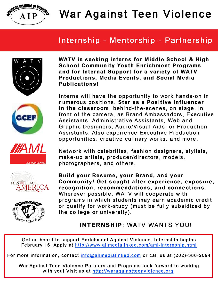 WATV Internship Annoucement