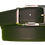 Thumbnail: Cinto de Vestir Reversible de Piel Napa Negro / Azul Marino