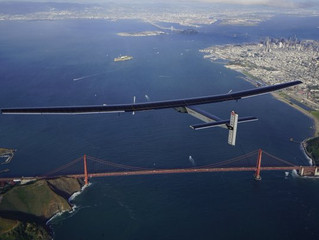 Travel News: Solar Plane Takes Clean Flight Across the Pacific