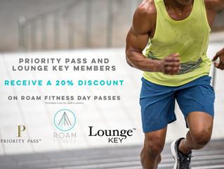 Priority Pass + Lounge Key Members