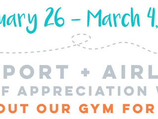 Airport + Airline Staff Appreciation Week