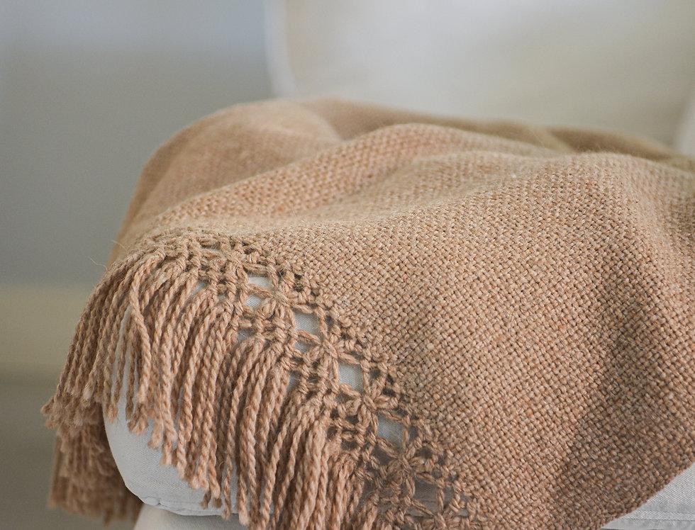 Manta lana de llama