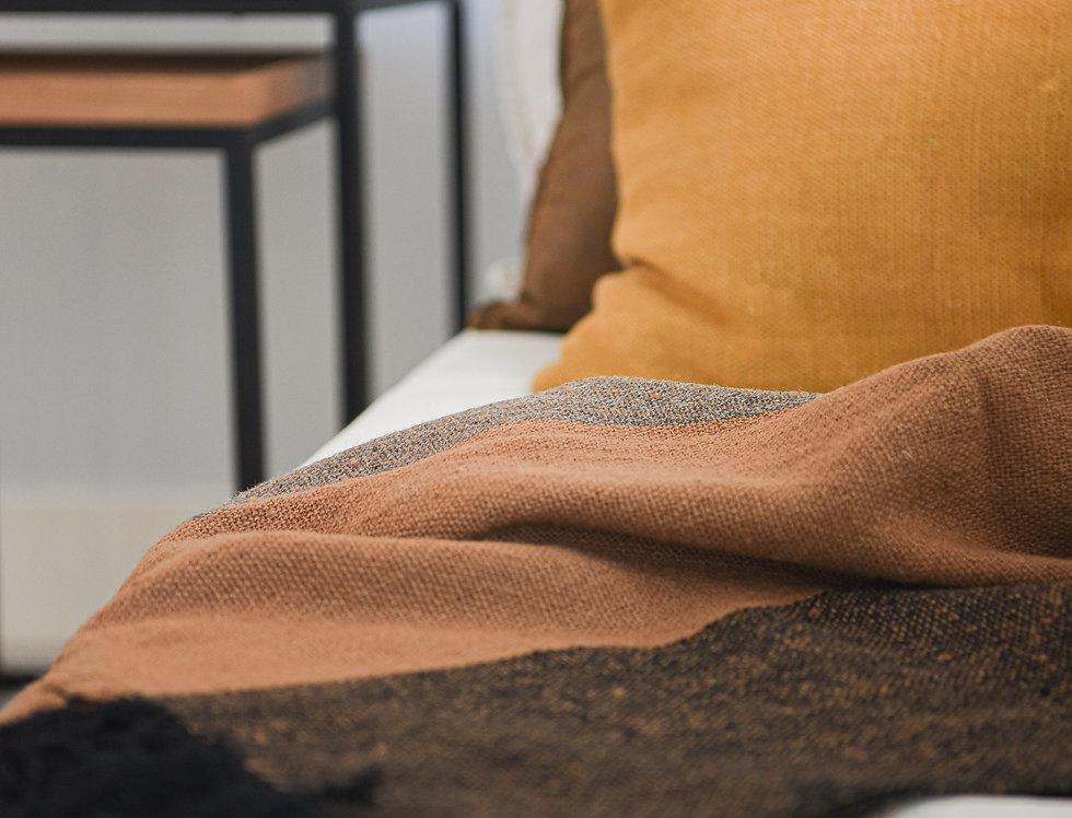 Manta lana de oveja 3 colores