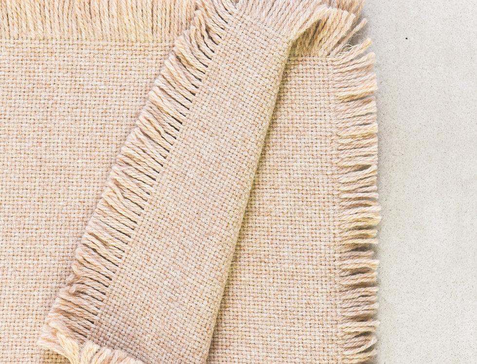 Manta diseño de textura en tejido baby alpaca