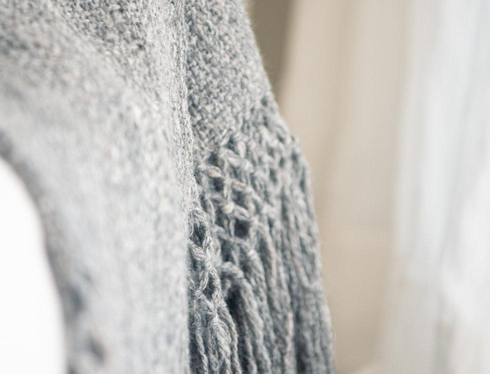 Pie de cama lana de llama (visón)