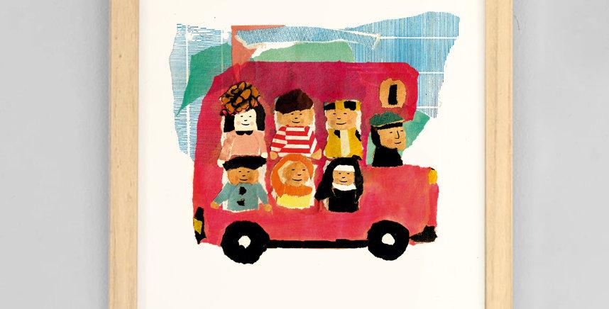 Cuadro London Bus