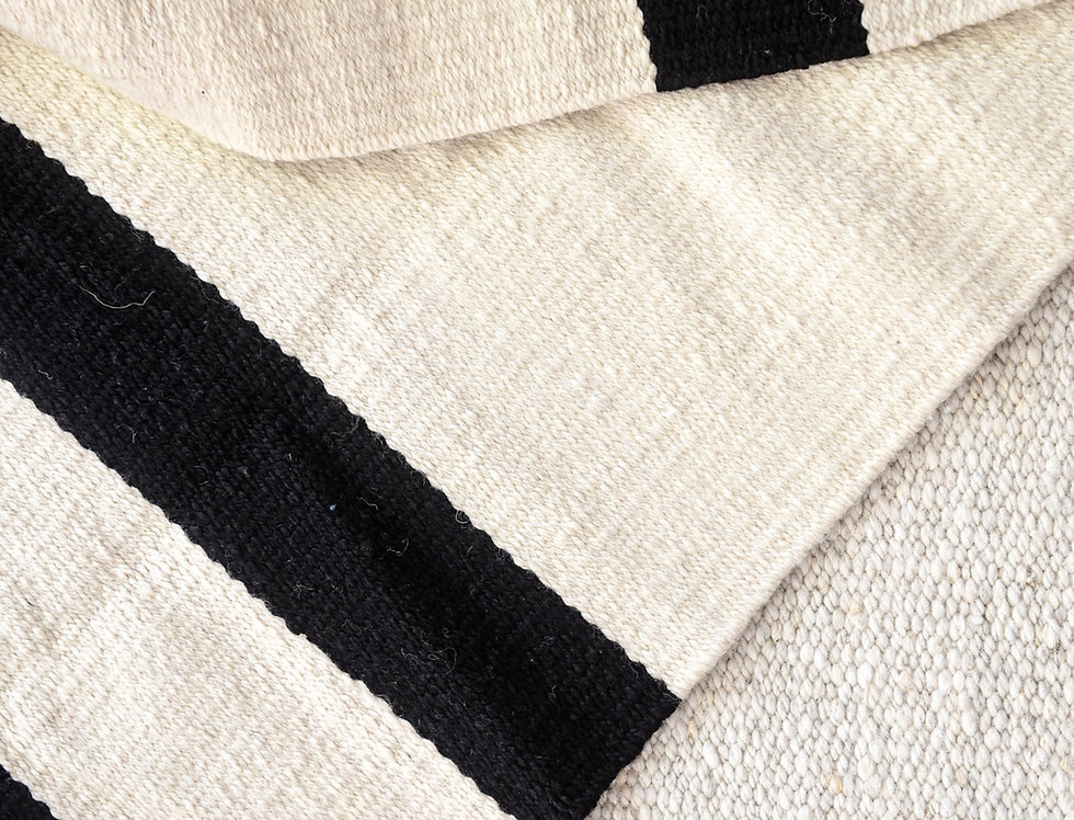 Rayada (blanco & negro)