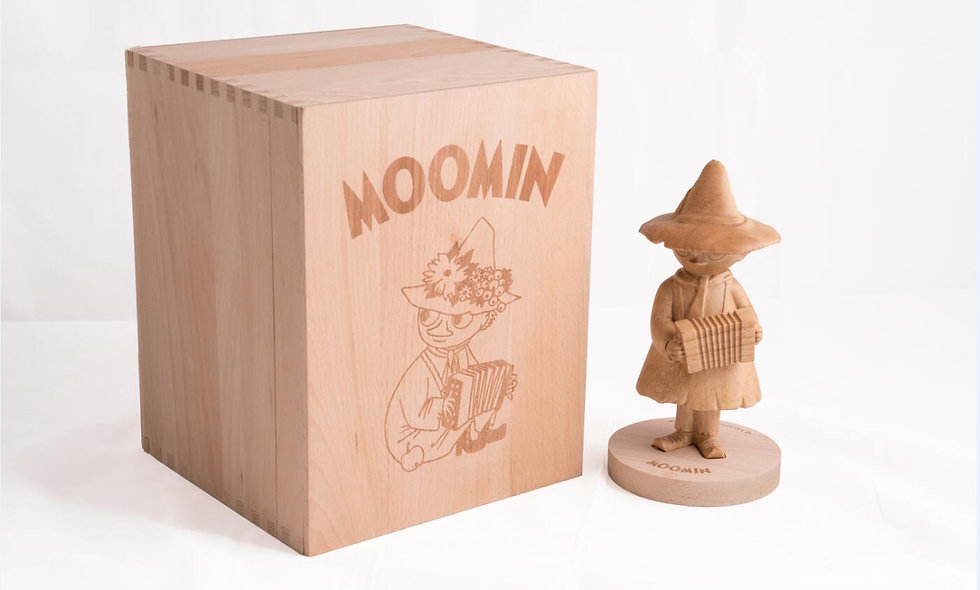 Snufkin wood sculptures (Limited 200)