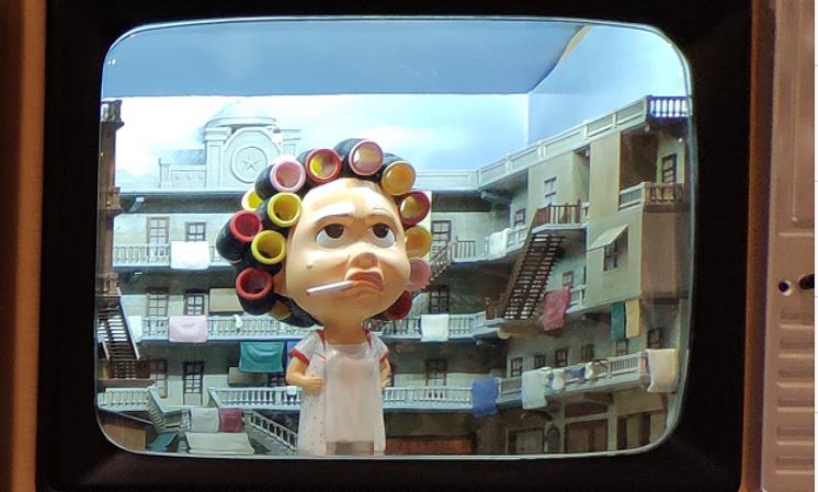 電視機情景系列—包租婆