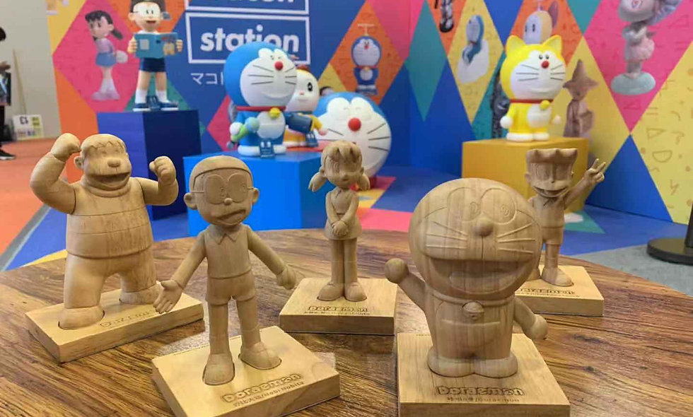 Doraemon Mini Crafted-A Set