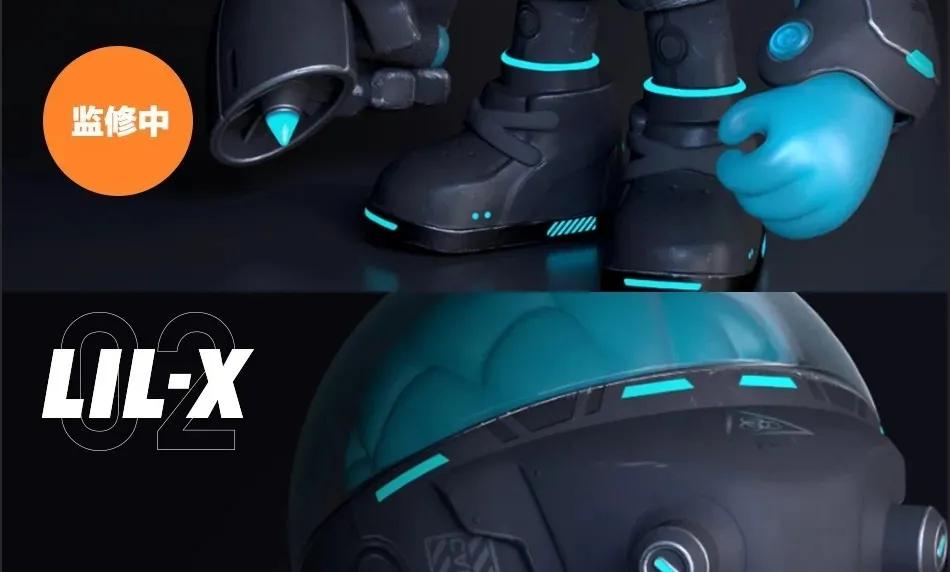 X-CROSS腦人2.0暗夜機甲腦人