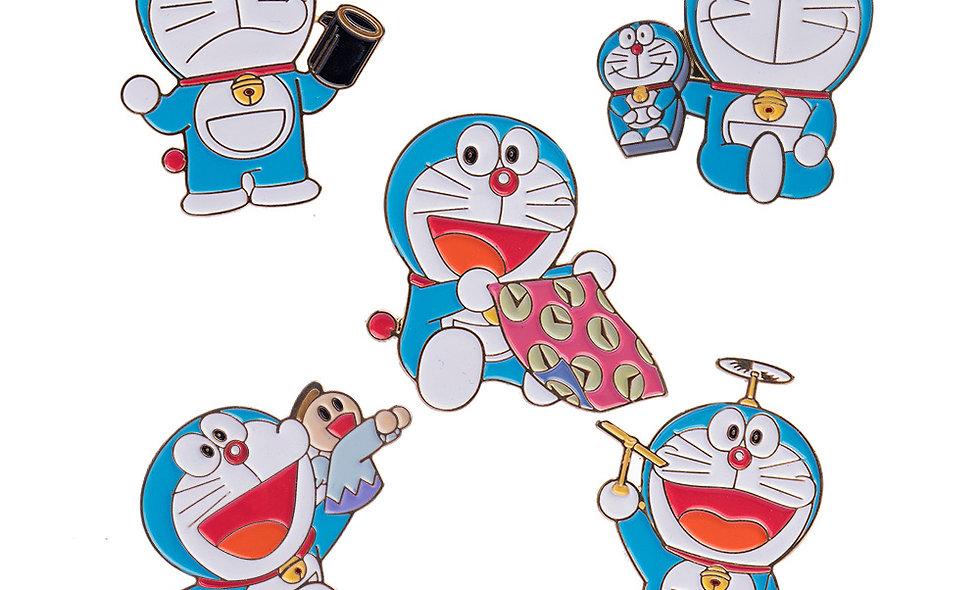 Doraemon Badge Set