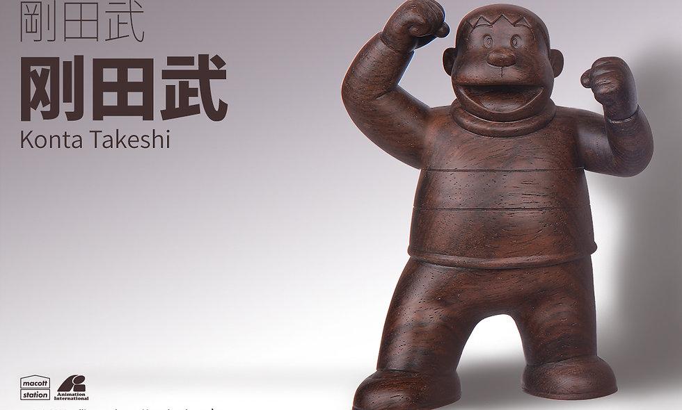 哆啦A夢木公仔-檀木(胖虎)