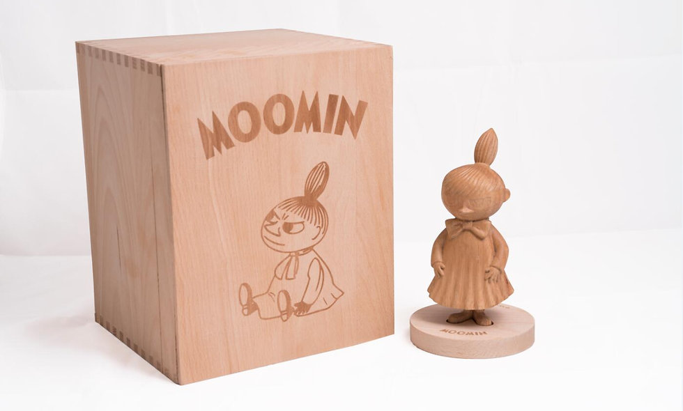 Little My wood sculptures (Limited 200)