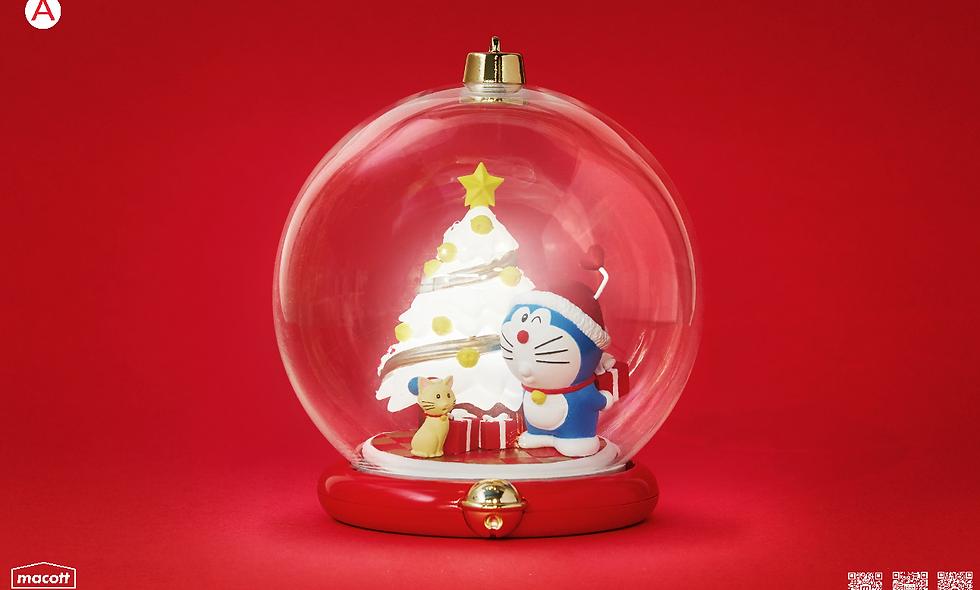 哆啦A夢水晶球-A款(Doraemon Joyous X'mas Bauble 2019)