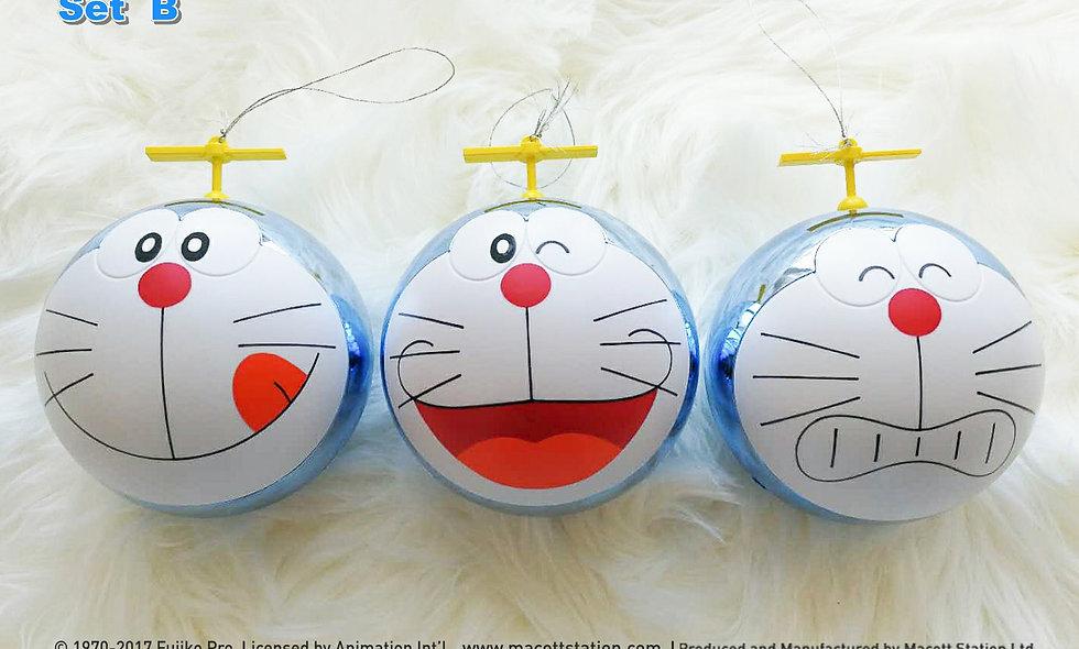 Doraemon Christmas Bauble (Set B)