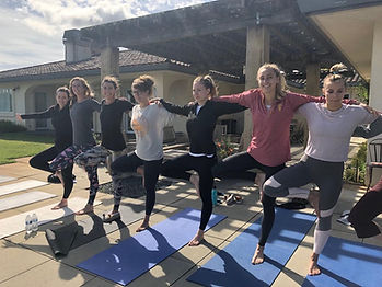 private yoga class, group yoga, vacation rental yoga, mendocino, sonoma, san francisco, bachelorette party, girls weekend, wine country, healdsburg, santa rosa, petaluma, novato, fort bragg, wedding yoga