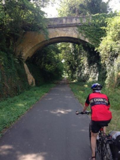 Férias de ciclismo na Dordonha