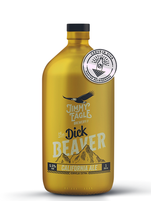 DICK BEAVER - California Ale Growler 1lt