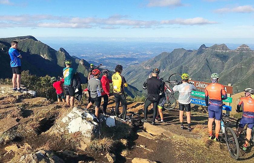 Desafio Serra do Rio do Rastro no pedal e visita ao Canion Ronda