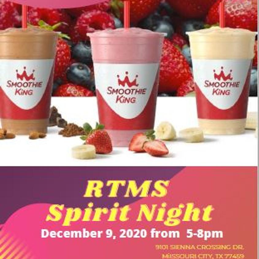 Smoothie King Spirit Night