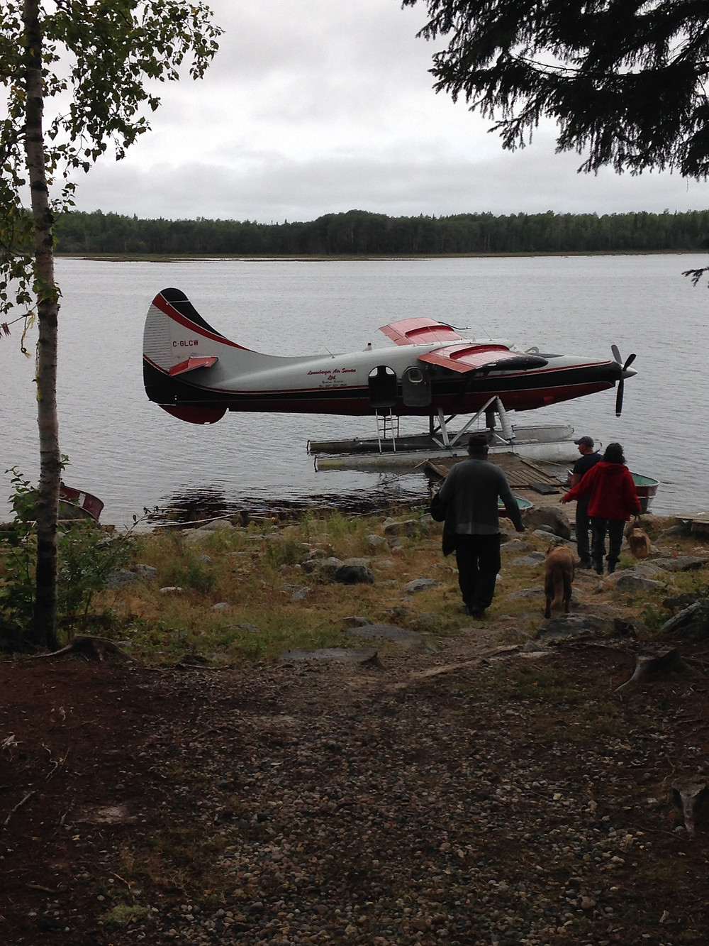 Turbo otter used on a fly in fishing trip
