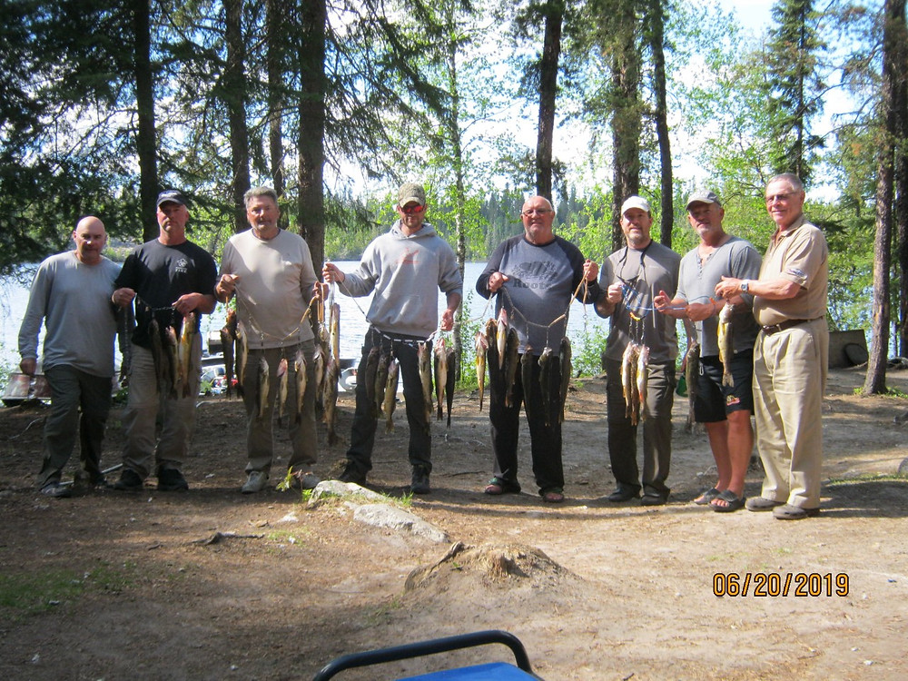 Fly in fishing trip for walleye and pike in Northern Ontario, Canada