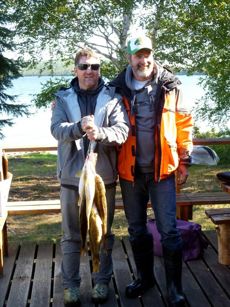 Fly in fishing trip in the Algoma region of Ontario, Canada