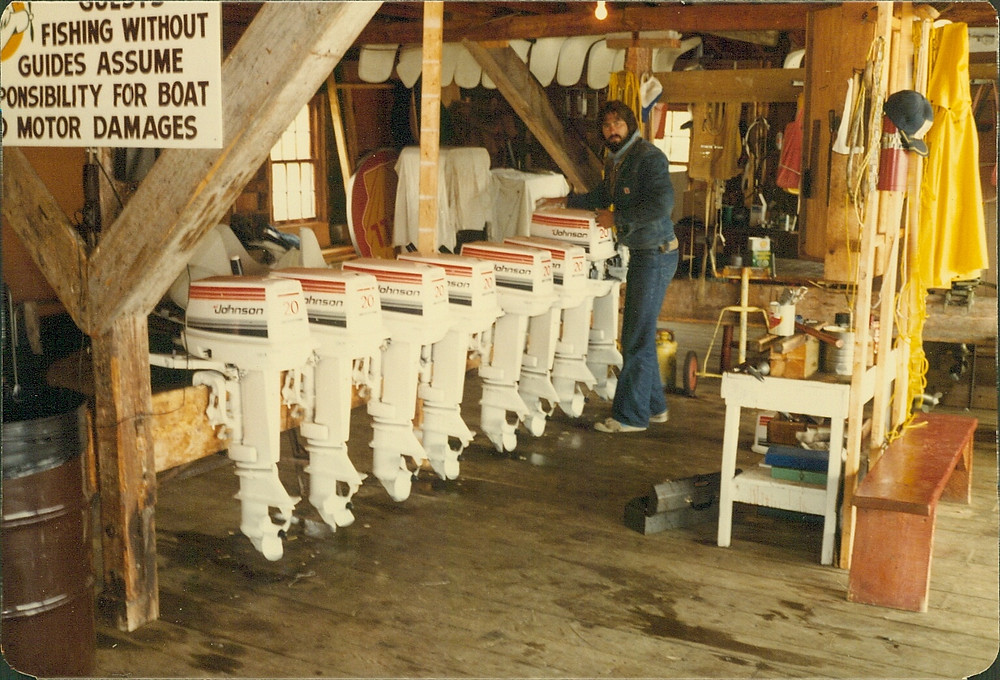 Fishing Lodge in Northern Ontario, Canada