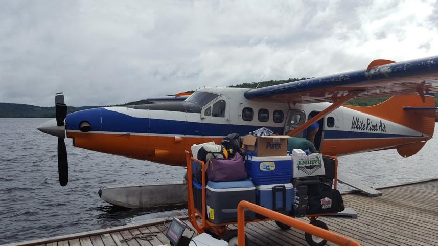 Loading the Otter, Algoma Region 2016