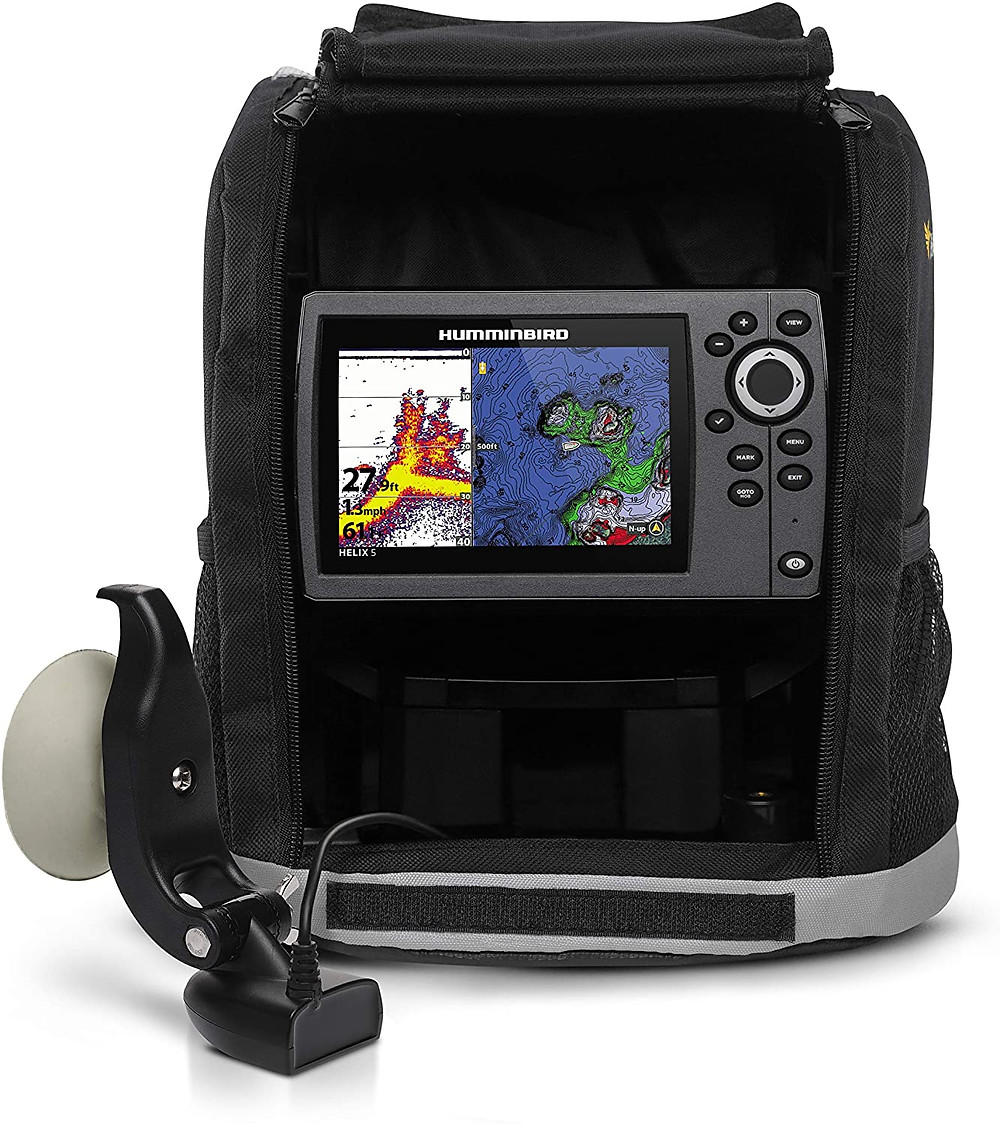 Product review of the Humminbird Helix 5 Portable unit