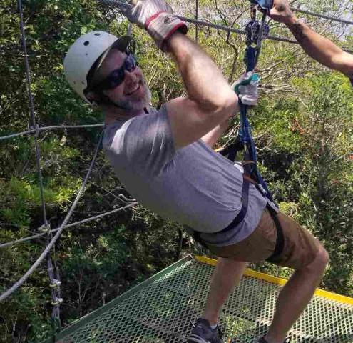 Embracing fear, Guanacaste, Costa Rica