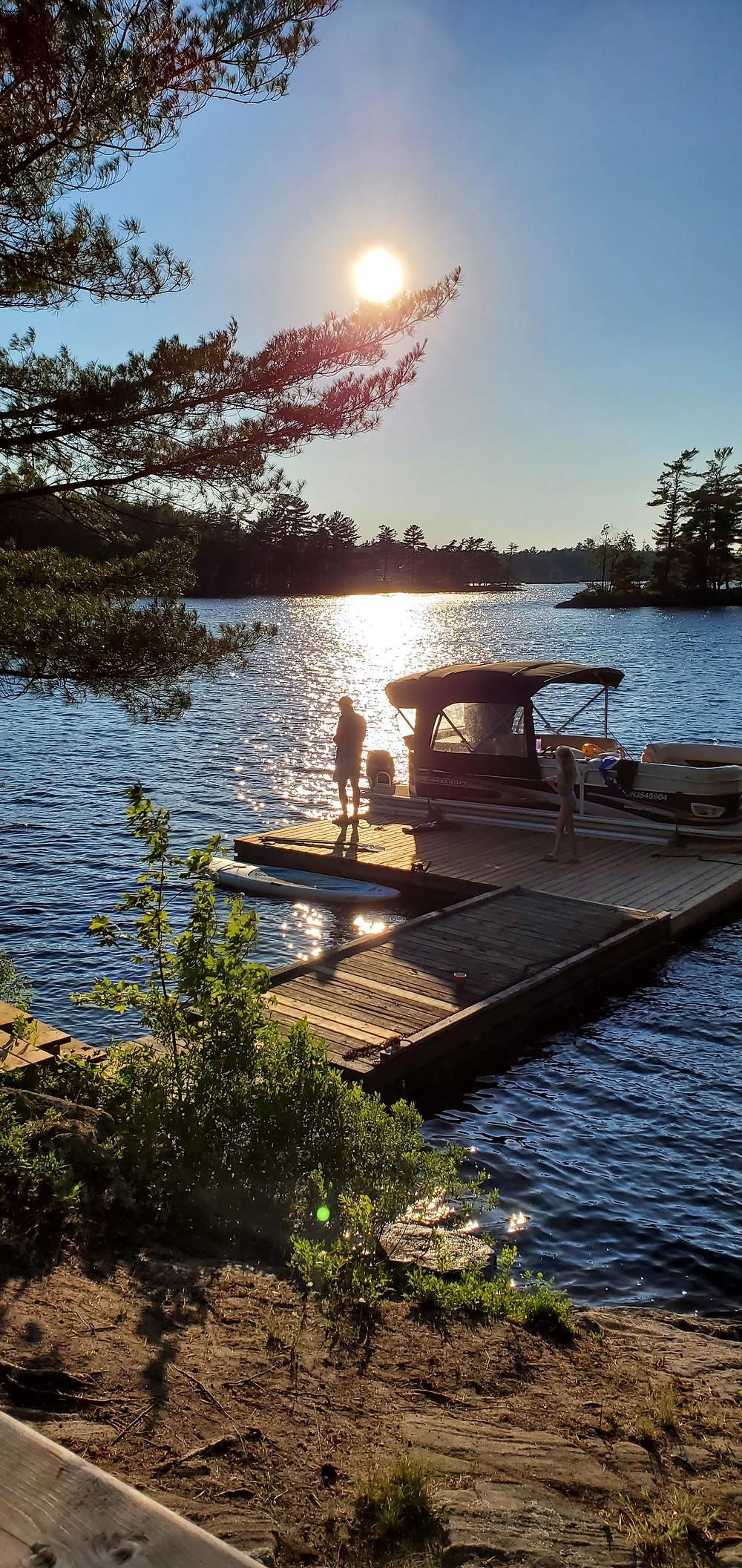 Fishing in the Muskokas Ontario for Bass