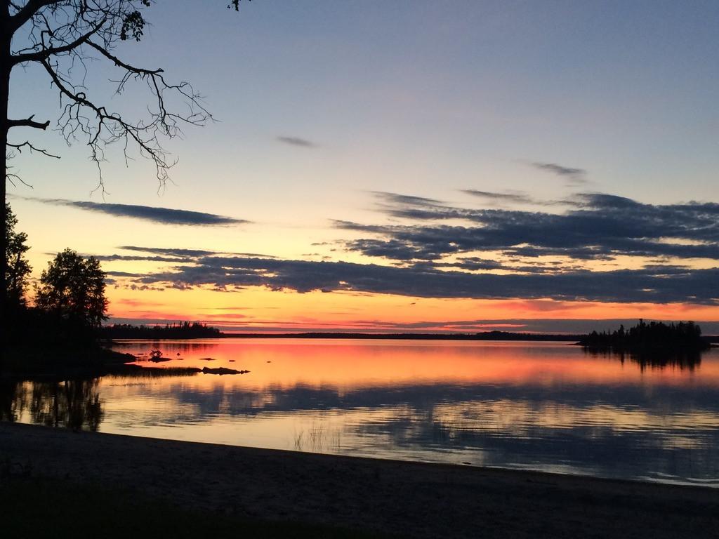Sunset at Miminiska Lake