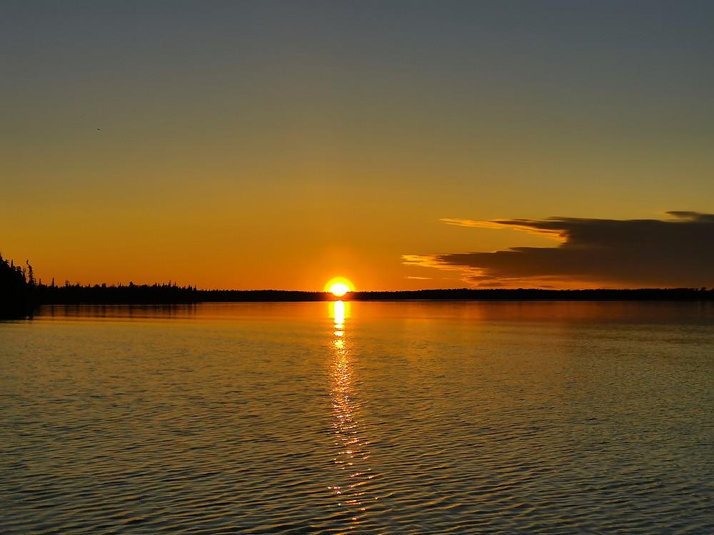 Beautiful Northern Ontario sunset