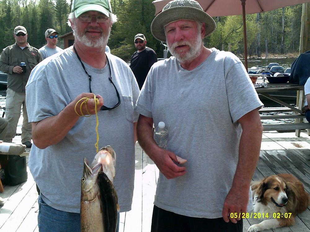 Walleye fishing in Northern Ontario, Canada