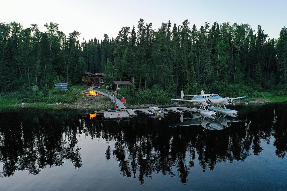 Beautiful cabin on Lake St Joseph in Northern Ontario