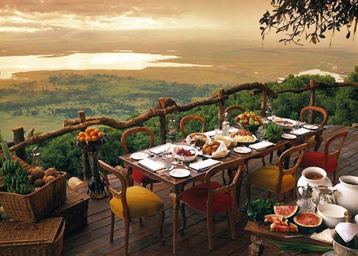 Stunning view of the Ngorongoro Crater