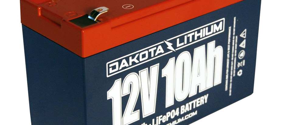 Product Review: Dakota Lithium 12-Volt 10 AH Battery