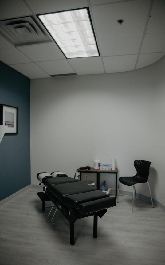 Chiropractor room