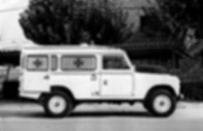 Land Rover Santana Serie IIa ambulancia